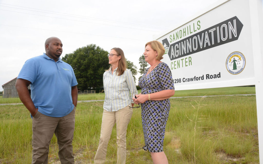 Sandhills AGInnovation Center Opens for Farmers & Produce Buyers